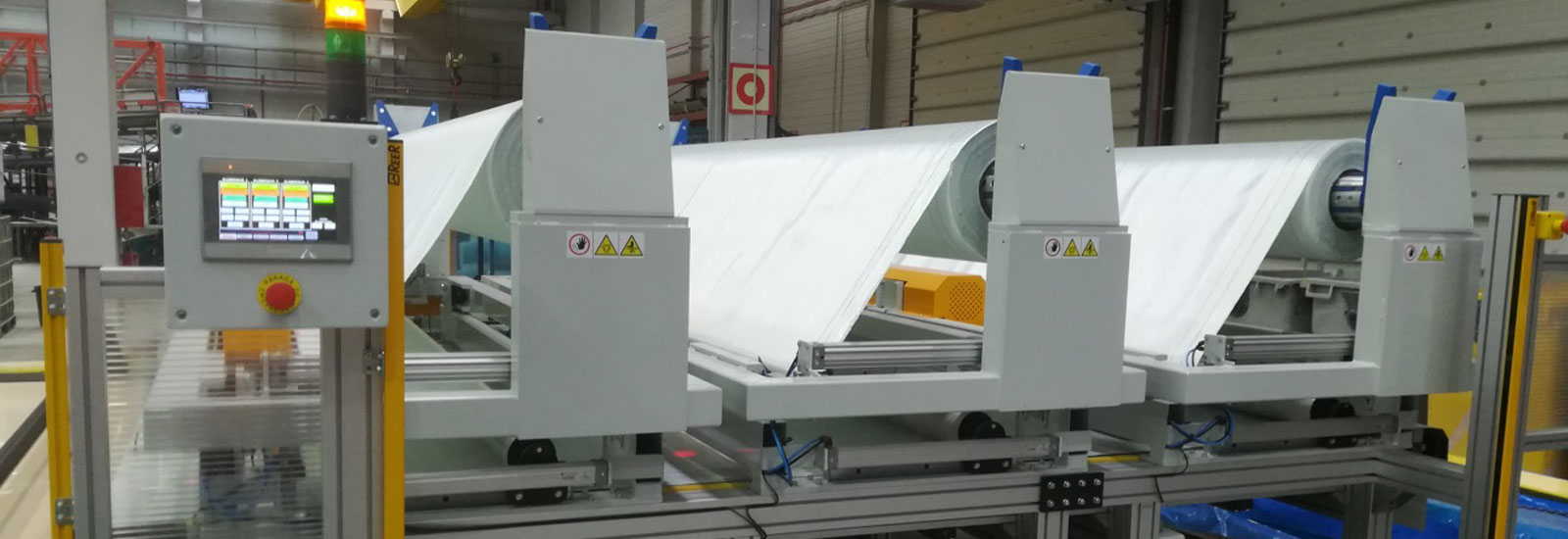 Machinery for Upholstery and Wind Power Energy Industry – Murcia
